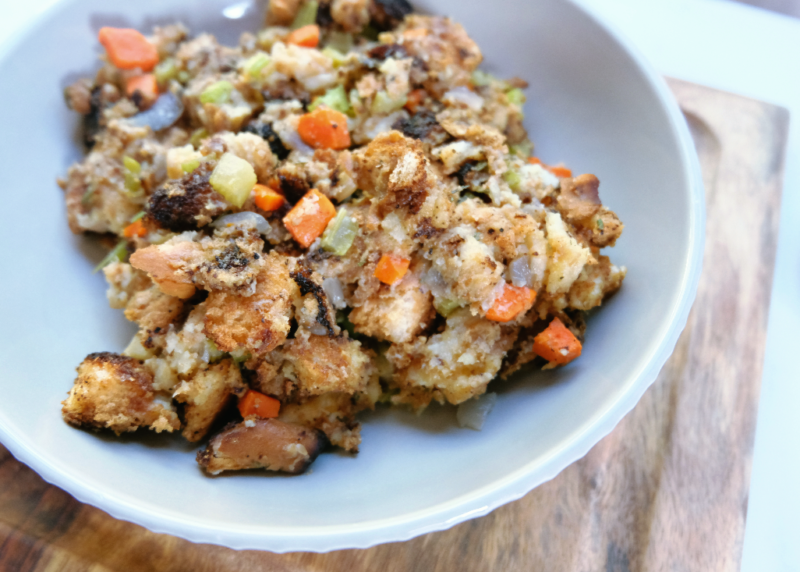 Easy Egg-less Stuffing